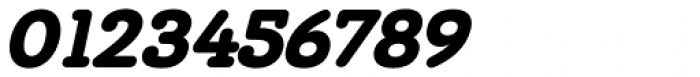 Chennai Slab Black Oblique Font OTHER CHARS