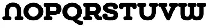 Chennai Slab Black Font UPPERCASE