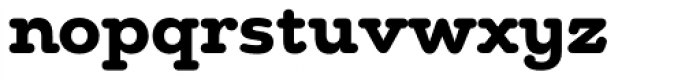 Chennai Slab Bold Font LOWERCASE