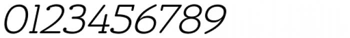 Chennai Slab Light Oblique Font OTHER CHARS