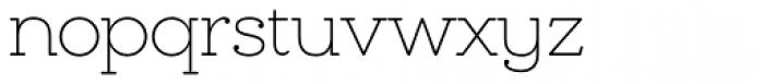 Chennai Slab Thin Font LOWERCASE