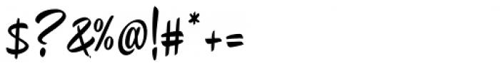 Chepina Script Regular Font OTHER CHARS