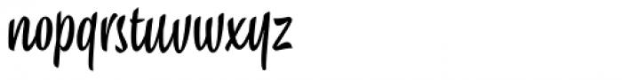 Chepina Script Regular Font LOWERCASE