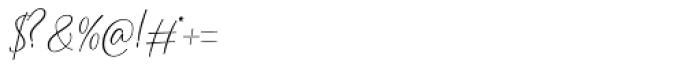 Cherolina Regular Font OTHER CHARS
