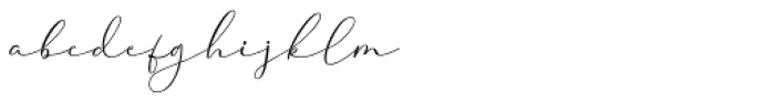 Cherolina Regular Font LOWERCASE