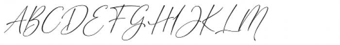 Cherolina Slant Font UPPERCASE