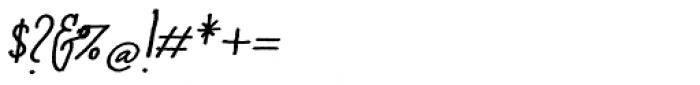 Cherripops Script Bold Italic Font OTHER CHARS
