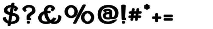 Cherritt Black Small Capitals Font OTHER CHARS
