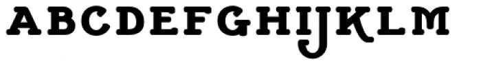 Cherritt Black Small Capitals Font LOWERCASE