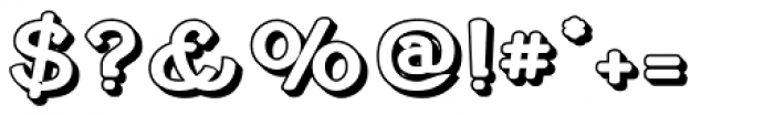 Cherritt Openface Small Caps Font OTHER CHARS