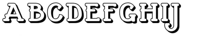 Cherritt Openface Small Caps Font UPPERCASE