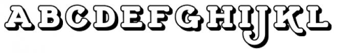 Cherritt Openface Small Caps Font LOWERCASE