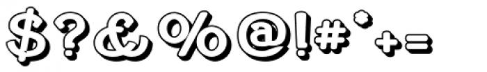 Cherritt Openface Font OTHER CHARS