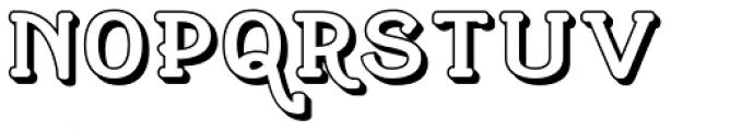 Cherritt Openface Font UPPERCASE