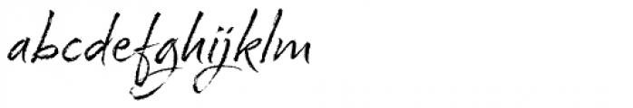 Cherry Blossoms Regular Font LOWERCASE