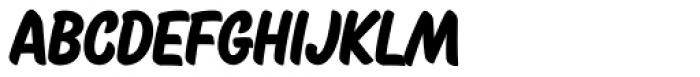 Cherry Brush Font UPPERCASE