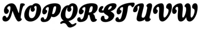 Cherry Lane Condensed Oblique Font UPPERCASE