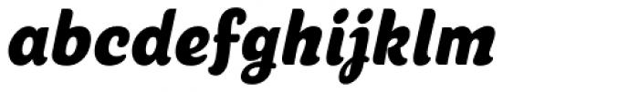 Cherry Lane Condensed Oblique Font LOWERCASE