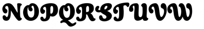 Cherry Lane Condensed Font UPPERCASE