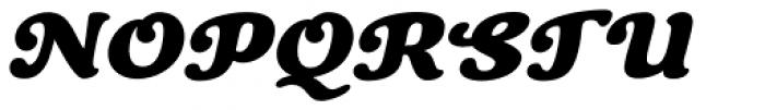 Cherry Lane Oblique Font UPPERCASE