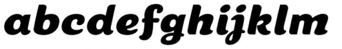 Cherry Lane Oblique Font LOWERCASE