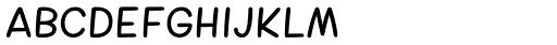 Cherry Sans Font LOWERCASE