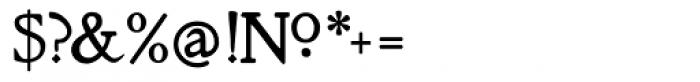 Cherub Regular Font OTHER CHARS