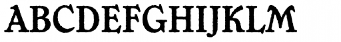 Chesterfield Antique Font UPPERCASE