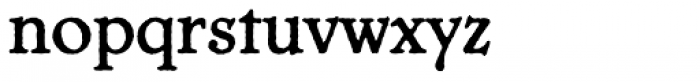 Chesterfield Antique Font LOWERCASE