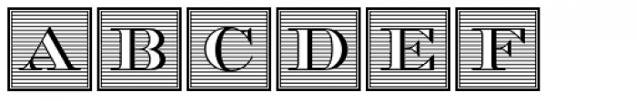Chevalier Initials D Font UPPERCASE