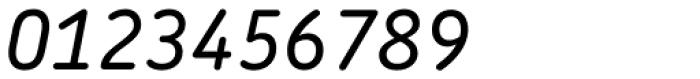 Chevin Pro Medium Italic Font OTHER CHARS