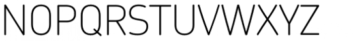 Chevin Std Thin Font UPPERCASE