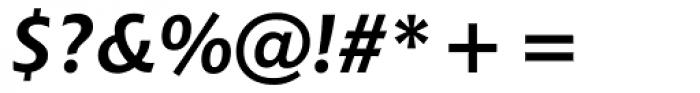 Chianti WGL4 Bold Italic Font OTHER CHARS