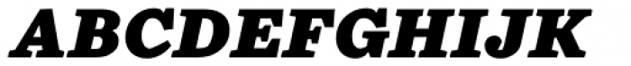 Chiavettieri Black Italic Font UPPERCASE