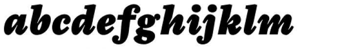 Chiavettieri Black Italic Font LOWERCASE