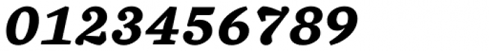 Chiavettieri Bold Italic Font OTHER CHARS