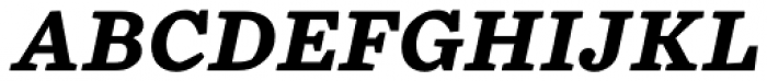 Chiavettieri Bold Italic Font UPPERCASE