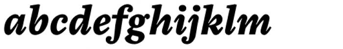 Chiavettieri Bold Italic Font LOWERCASE