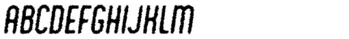 Chic Chalk Italic Font UPPERCASE