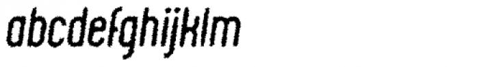 Chic Chalk Italic Font LOWERCASE