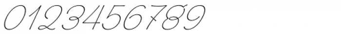 Chic Hand Slanted Font OTHER CHARS