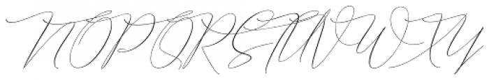Chica Maravilla Regular Font UPPERCASE