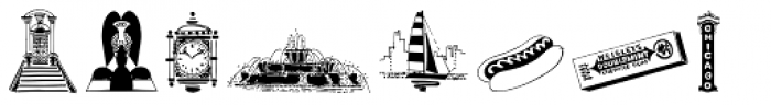 Chicago Doodles Font LOWERCASE