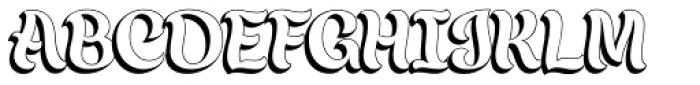 Chicha Dura Font UPPERCASE