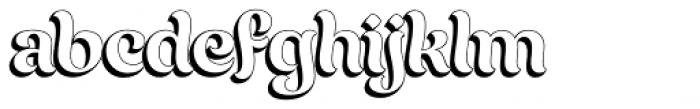 Chicha Dura Font LOWERCASE