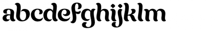 Chicha Normal Font LOWERCASE