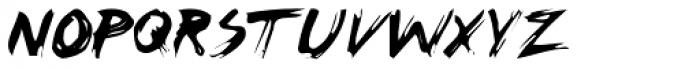 Chicken Scratch AOE Font UPPERCASE
