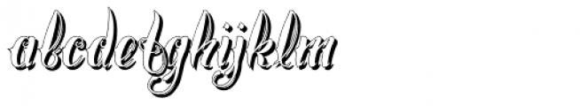 Chika Tattoo White Font LOWERCASE