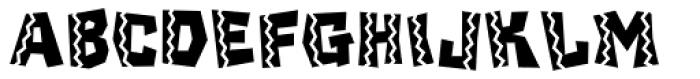 Chilada ICG Dos Font UPPERCASE