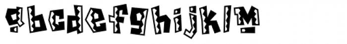 Chilada ICG Tres Font LOWERCASE
